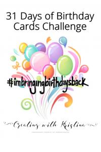 Birthday Card Challenge