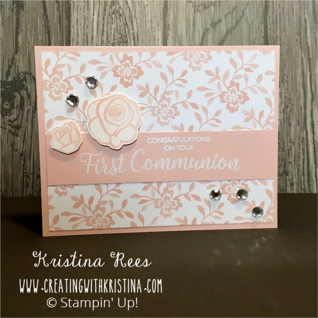 Inspired Events Pink First Communion
