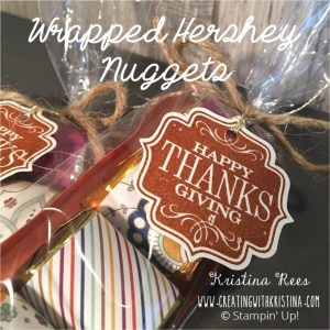 Wrapped Hershey Nuggets