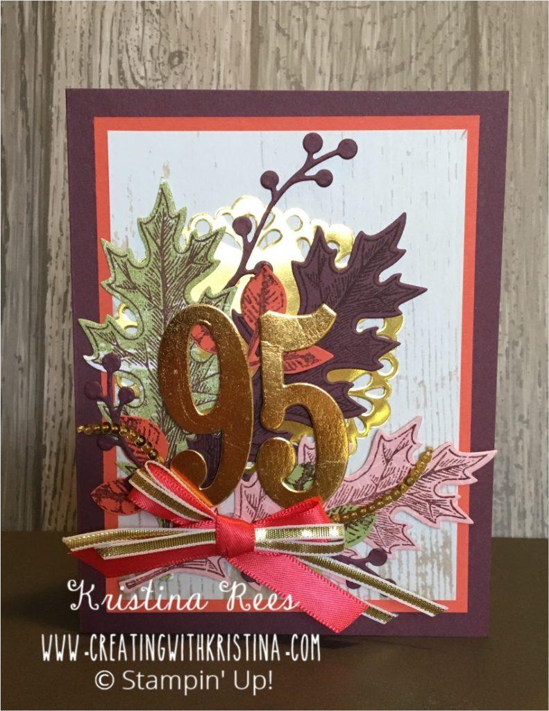 A Very Special 95th Birthday Card