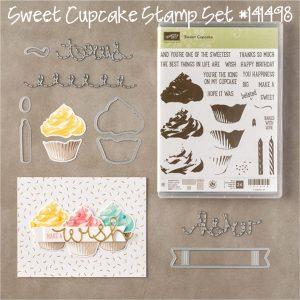 Sweet Cupcake Stampin' Up! stamp set www.creatingwithkristina.com
