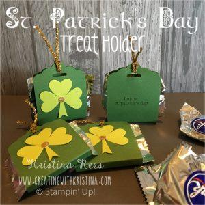 St. Patrick's Day Treat Holder title 2
