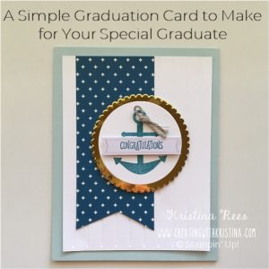 A Simple Graduation Card to Make for Your Special Graduate