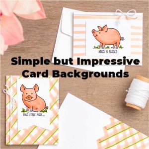 Simple but Impressive Card Backgrounds