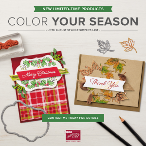 Color Your Season Limited Time Only