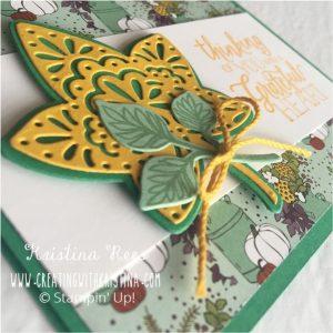 Color Challenge #CWK81718 card CreatingwithKristina.com