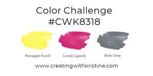 Color Challenge #CWK8318