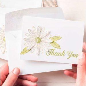 Daisy Delight Thank You Cards CreatingwithKristina.com