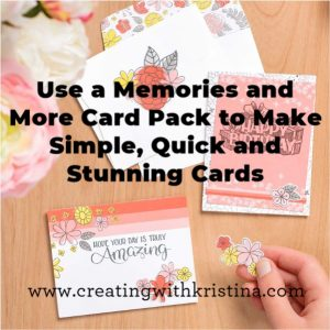 Super Easy Handmade Cards with Card Pack and Big Wishes Stamp Set