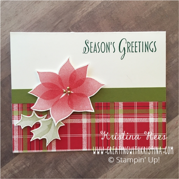 One Sheet Wonder Technique 4 Christmas Cards 4