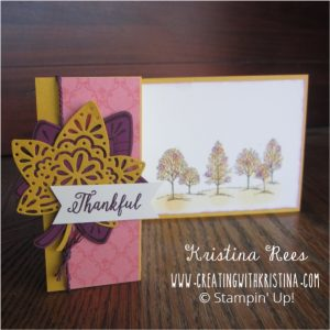 Fall Thank You Card Pencil Eraser Leaves2