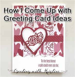 How I Come Up with Greeting Card Ideas
