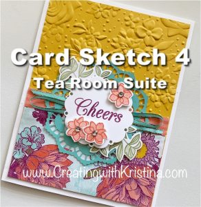 Card Sketch 4 Tea Room Suite