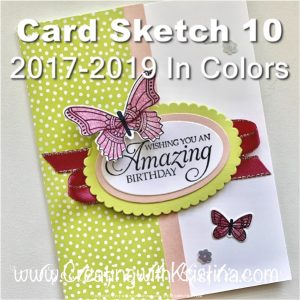 Card Sketch 10 2017-2019 In Colors