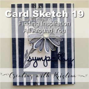 Card Sketch 19 Finding Inspiration All Around You Title
