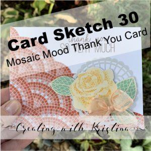 card sketch 30