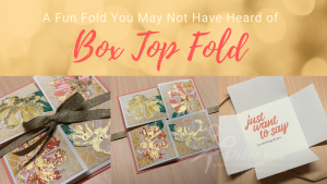 Box Top Fold Card